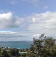 View from the hill Hibiscus Coast