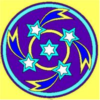 Mandala with stars